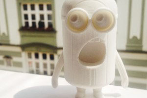 3D printing in marketing / minion