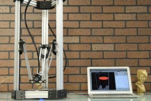 Delta maker 3D tlčiareň