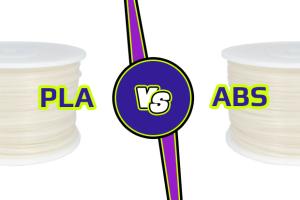ABS vs PLA 3D tlač
