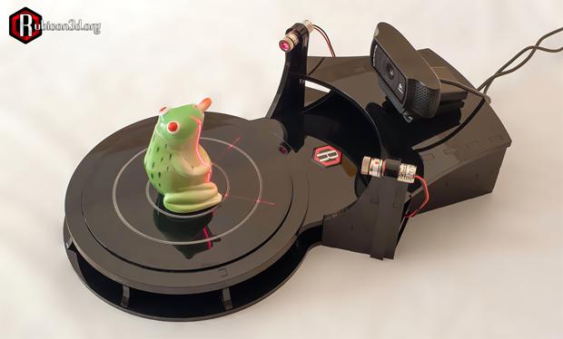 Rubicon-3dscanner