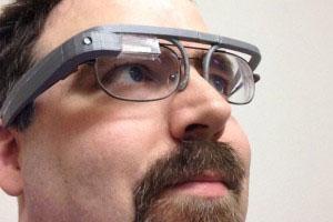 Google glass 3D tlač