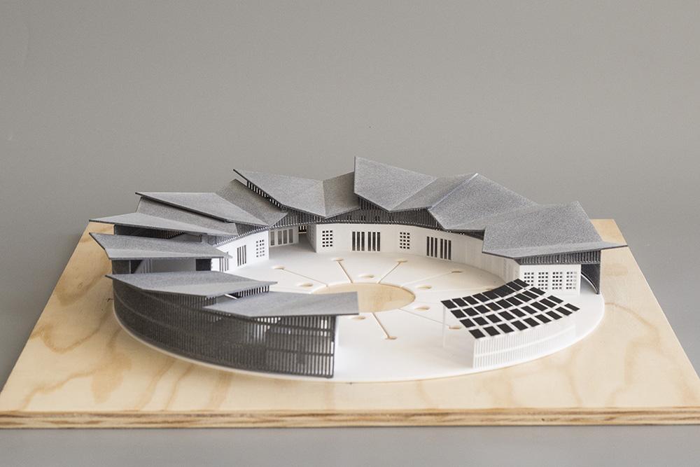 3d Tlac Architektura Senegal Sls Pa12 Mjf 1