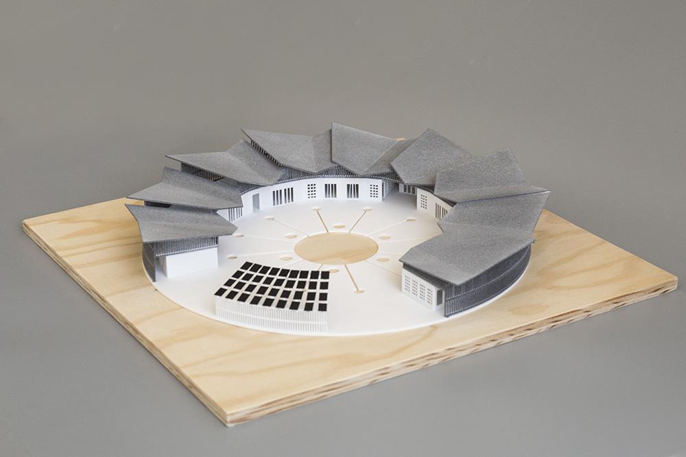 3d Tlac Architektura Senegal Sls Pa12 Mjf 2