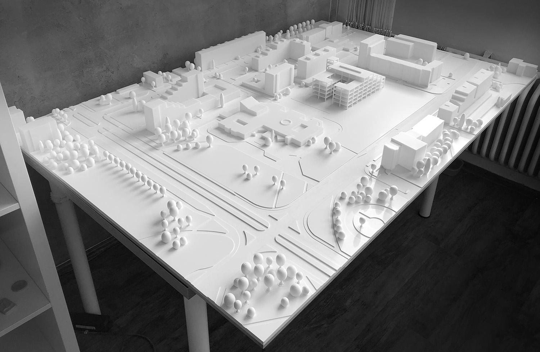 3d Tlac Architektura Urbanisticky Model Architecture 4