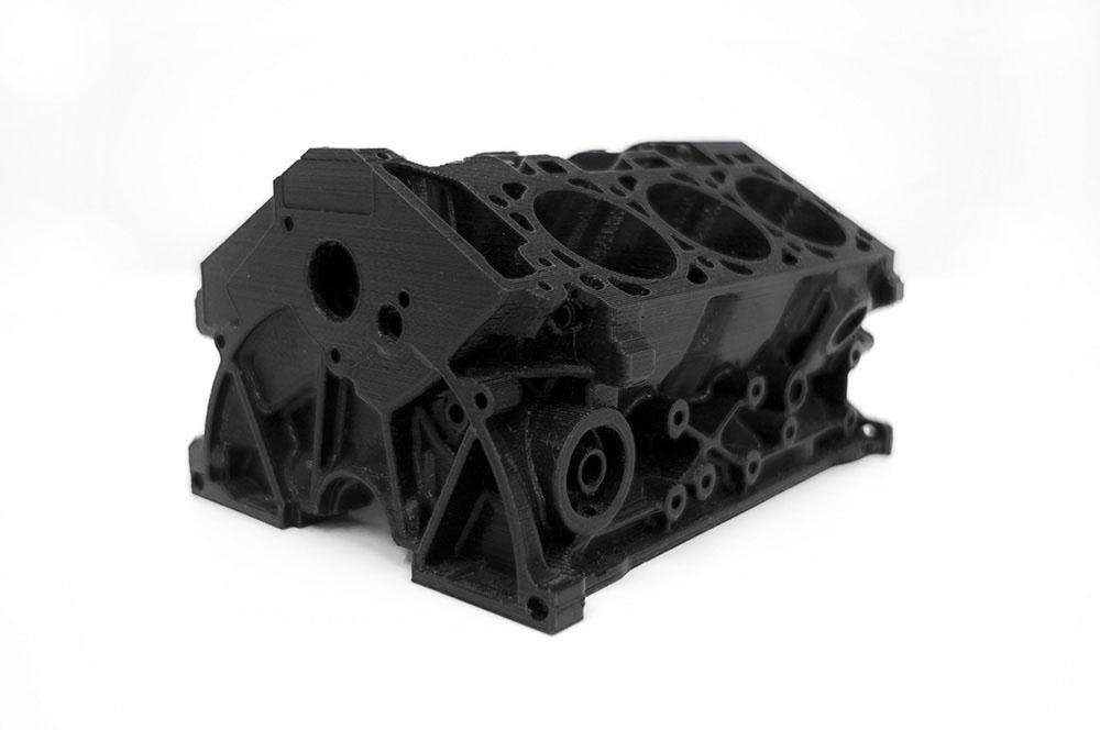Engine 3d Printing 3d Tlac Tvaroch Pla Black