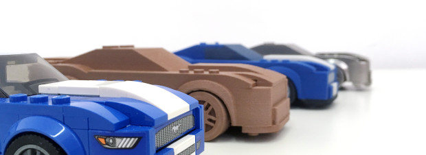3d tlaceny mustang shelby lego