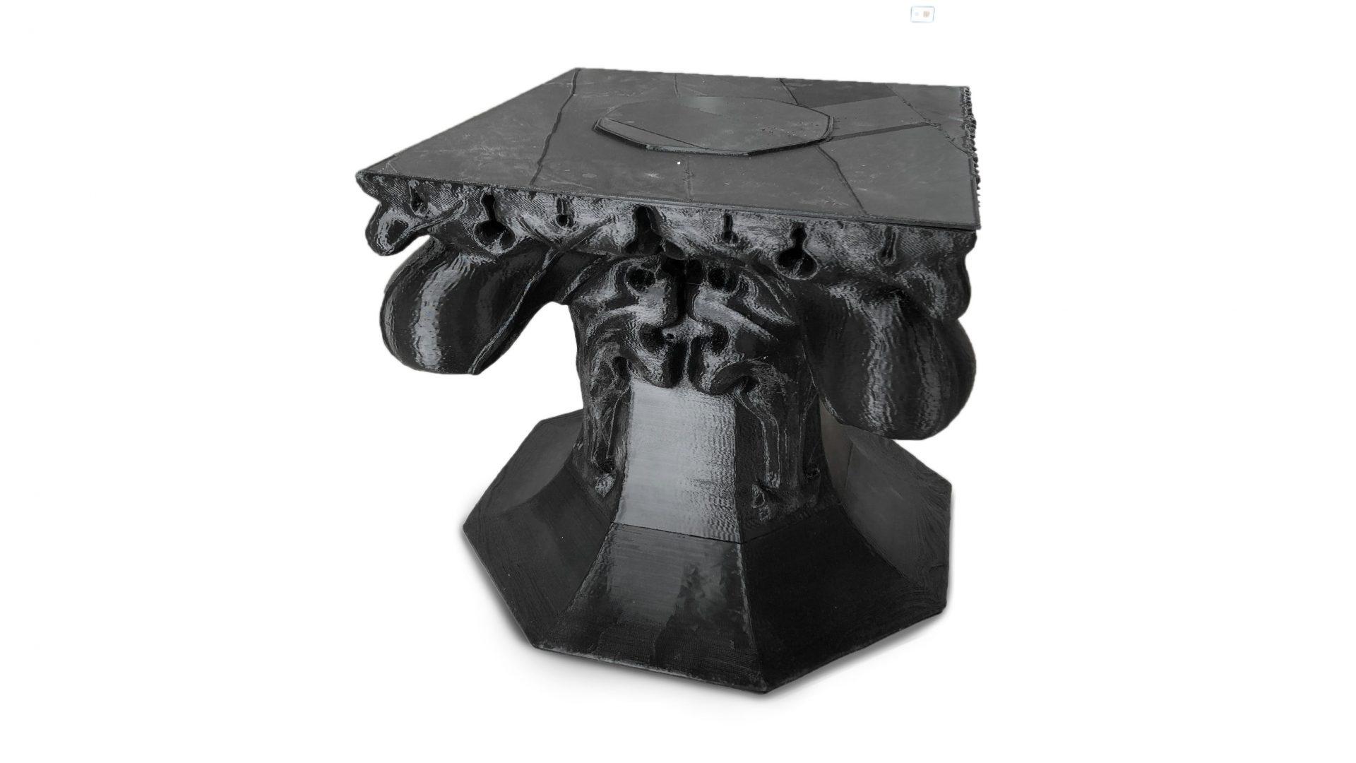 3D tlač hlavica pla stlp
